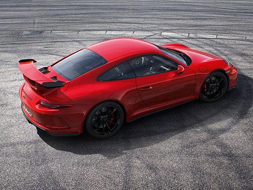 Born in Flacht. Der neue 911 GT3.